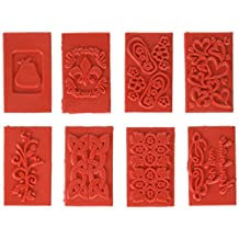 Life Of The Party Soap Embossing Stamp Assortment 8/Pkg-Rectangle