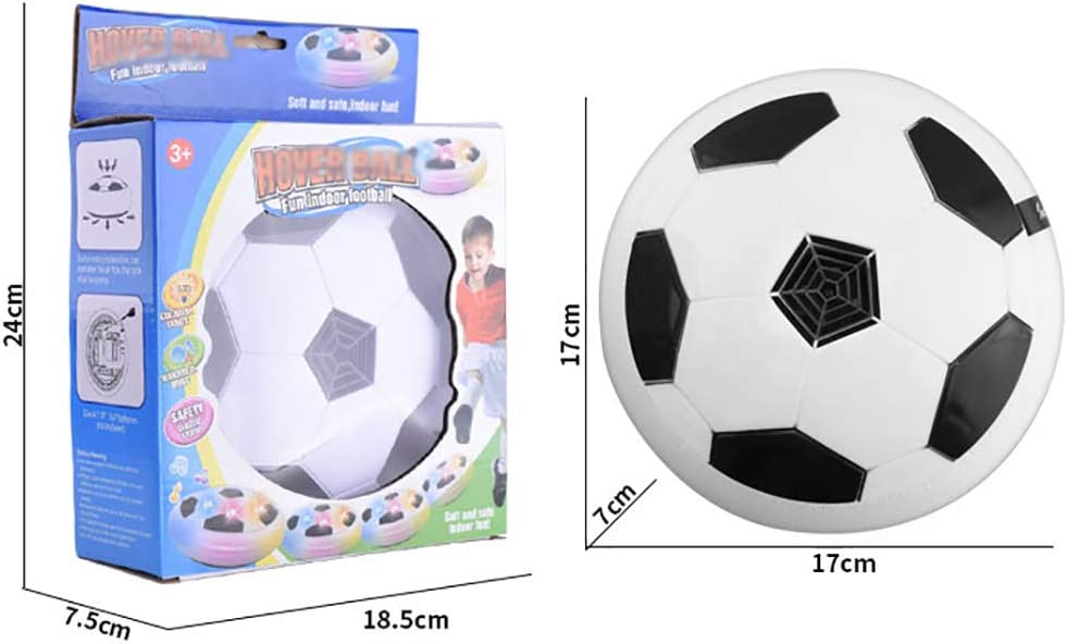 Colorful Lights Electric Universal Air Cushion Training Football Childrens Indoor And Outdoor Toys YRE Indoor Football Electric Air Suspension Childrens Football