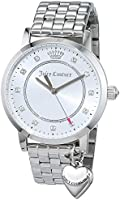 Juicy Couture women's white dial stainless steel watch - 1901474
