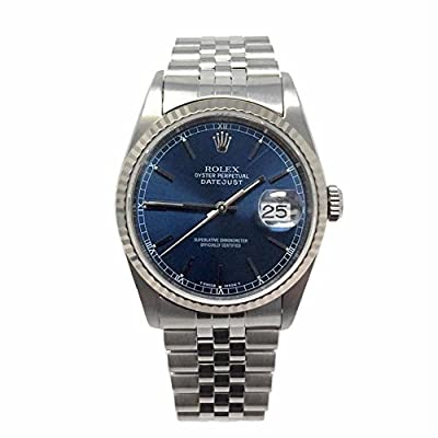 Rolex Datejust swiss-automatic mens Watch 16234 (Certified Pre-owned)