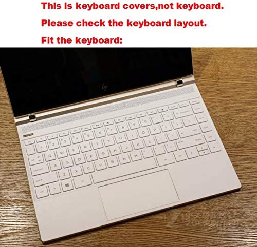 Laptop High Clear Transparent Tpu Keyboard Cover Protectors for 2017 HP Spectre 13 af003na af033ng af010ca af034ng af004nf af009tu af005nl af035ng af028tu