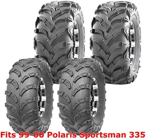 Set 4 WANDA ATV tires 23x7-10 /& 22x11-10 96-09 Polaris Trail Blazer 250 330 400