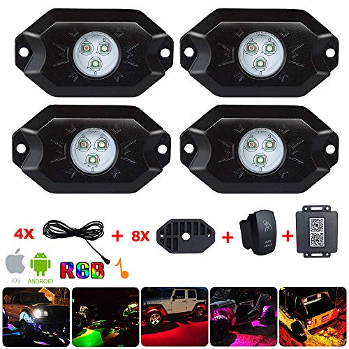 7 Color Led Underglow Lights in US - 8