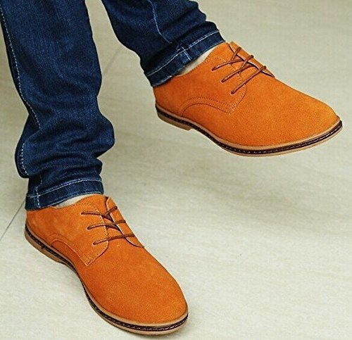 Business Herren Schuhe Schuhe Casual Leicht Wildleder Tan LILI Shop Tc6qEE