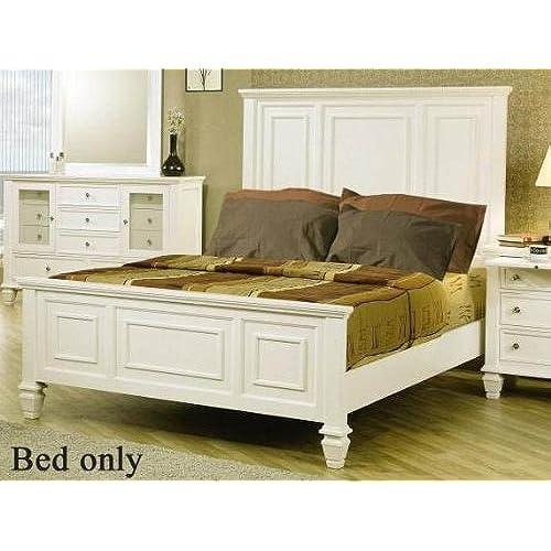 White King Bed Amazoncom - White-king-bed-frame