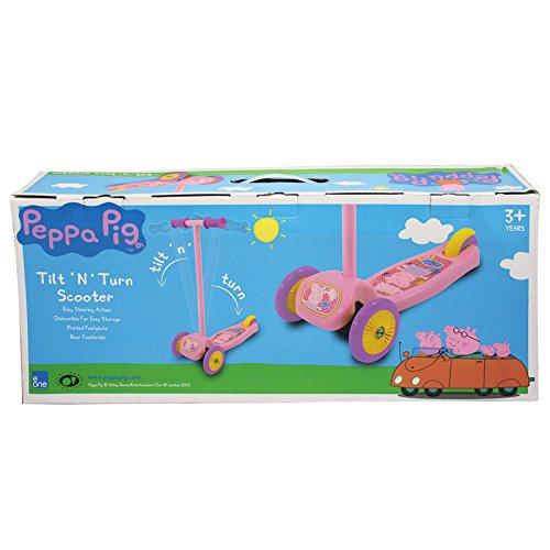 Patinete 3 ruedas Peppa Pig Rosa antideslizante lasitud ...