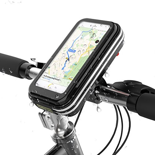 - Fitian Frame Bike Bag, Phone Bicycle Bag Waterproof Sensitive Touch Screen iPhone X 8 7 6s 6 Plus/Samsung Galaxy s8/Note 5/Huawei Below 6.2 Inch Phone Case for Bicycle Frame Top Tube Handlebar Case