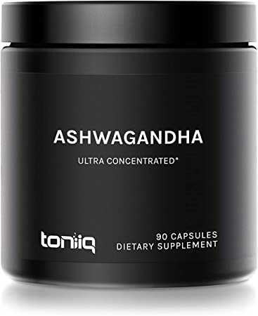 10% Withanolides Ultra High Strength Ashwagandha Capsules - 19,500mg 15x Concentrated Extract - Wild Harvested in India - 90 Caps
