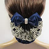 Labu Store 1 Piece Stylish Snood Hair- Hair Accessories, Gives any Hairstyle an Elegant, For Ballet Dance Skating Sports and Daily Working