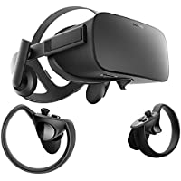 Oculus Rift + Touch Virtual Reality Headset System