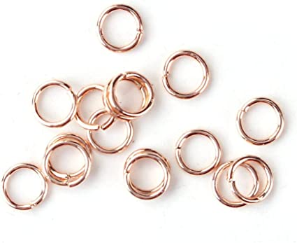 Sliver Gold Rose Gold Open Jump Ring Open Jump Ring 100pcs 1x7mm Stainless Steel Jump ring Adjustable Rings  Jumprings