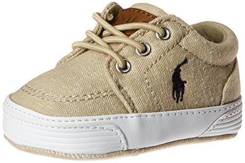 Layette Ralph Baby Lauren - Ralph Lauren Layette Boys' Faxon Gore-K Sneaker, Khaki, 0 M US Infant
