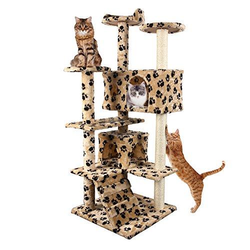 Four Level Cat House (FOUR CLOVER Cat Tree Kitten 53