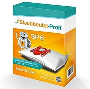 10bolsas para aspiradoras Siemens Super S Serie de polvo bolsa de profesional®