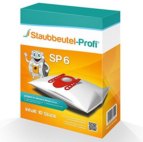 10 Staubsaugerbeutel geeignet für Siemens VS 06B112A von Staubbeutel-Profi®