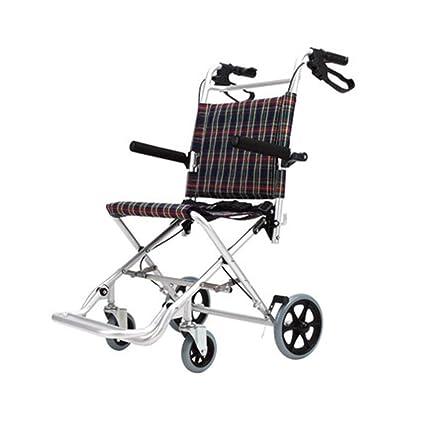 Silla de ruedas propulsada Plegable De Aluminio para Niños ...