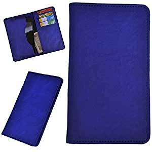 DCR Pu Leather case cover for HTC Desire 612 (blue)