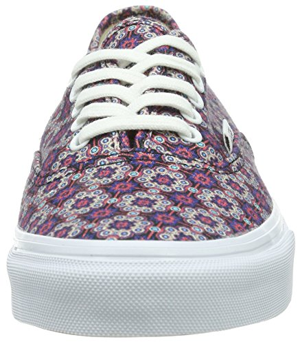 Vans Authentic Slim, Unisex-Adults' Low-Top Trainers Multicolour (Geometric)