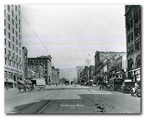 Wall Decor The Nevada Hotel Vintage Country Art Print Poster (16x20)