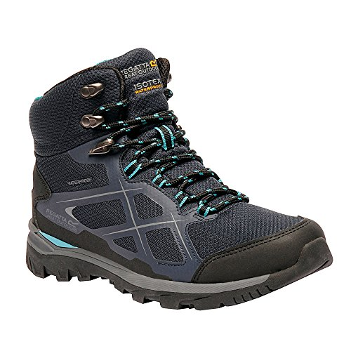 Aqua Blaze Womens Outdoors Great Boots Kota Ladies Walking Navy Mid Regatta Oqv1z
