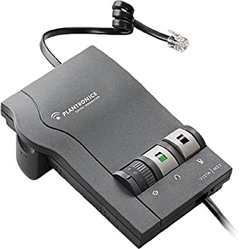 amazon com plantronics m12 vista headset amplifier home audio rh amazon com Ear Cushions Plantronics Vista M12 Plantronics Sound Innovation Vista M22