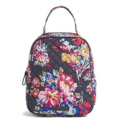 - Vera Bradley Iconic Lunch Bunch, Signature Cotton, pretty Posies