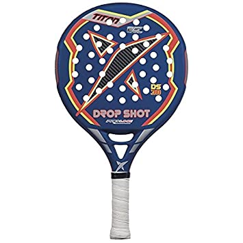 DROP SHOT Titan - Pala de pádel, Color Azul/Naranja / Negro, 38 mm: Amazon.es: Deportes y aire libre