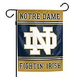 "Elite Fan Shop Notre Dame Fighting Irish Garden Flag 12.5""x18"" - Navy"
