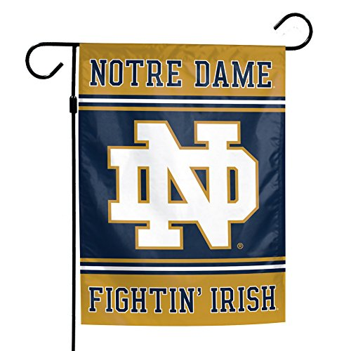 Elite Fan Shop Notre Dame Fighting Irish Garden Flag 12.5