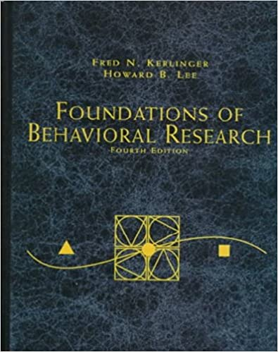 Amazon foundations of behavioral research psy 200 300 foundations of behavioral research psy 200 300 quantitative methods in psychology 4th edition fandeluxe Image collections