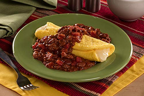 Chef 5 Minute Meals Self Heating Meal Breakfast: 3 Cheese Omelet w/Beef Chili with Beans - Case of 12 by Chef 5 Minute Meals (Image #1)