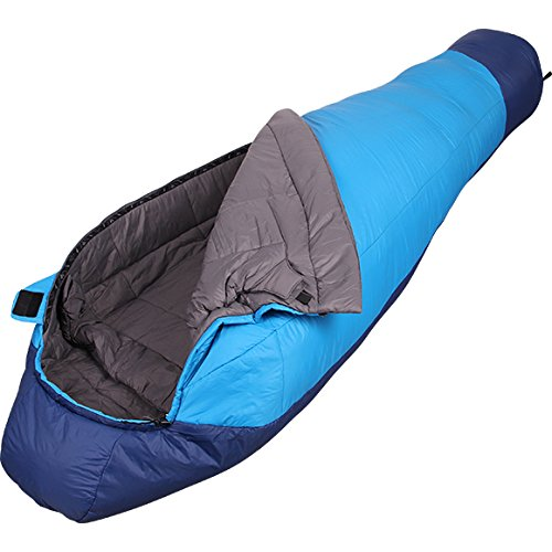 Warm Sleeping Bag Fantasy 233 Primaloft +3 -2C S - XXL Size Left & Right B079DW8B8S