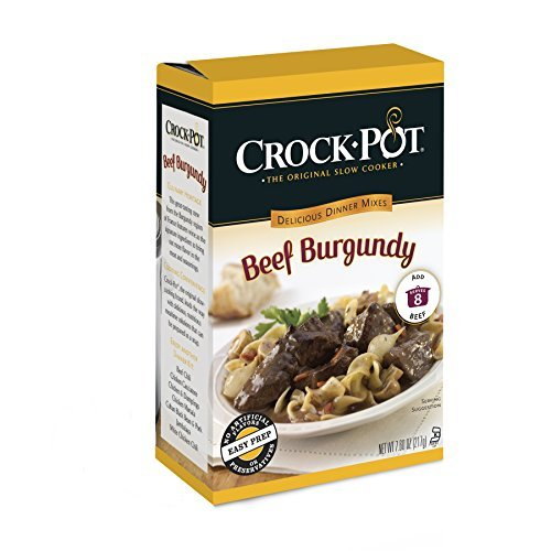 Crock-Pot Delicious Dinners Beef Burgundy, 7.64 Ounce by Crock-Pot
