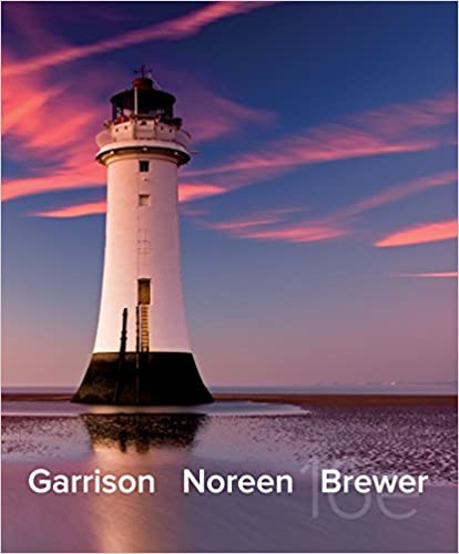 Managerial Accounting Garrison 13th Edition Book Pdf