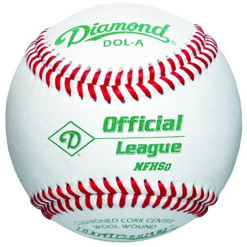 Diamond DOL-A Official League NFHS Baseball (12 pack) DOL-A