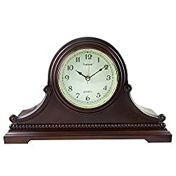 LNC Westminster Chime Mantel Clock, Vintage Table Clock, Japan Seiko Movement