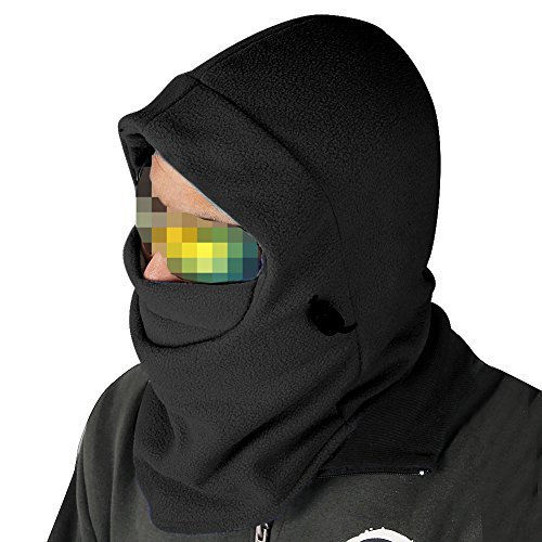 Nsstar™ Thermal Warm Fleece Full Face Mask Balaclava CS Mask Head and Neck Cover Warmer Windproof Hooded Scraf Hat for Winter Outdoor Sports Cycling Motorcycle Bike Ski Snowboard fishing with (Best Nsstar Motorcycle Helmets)