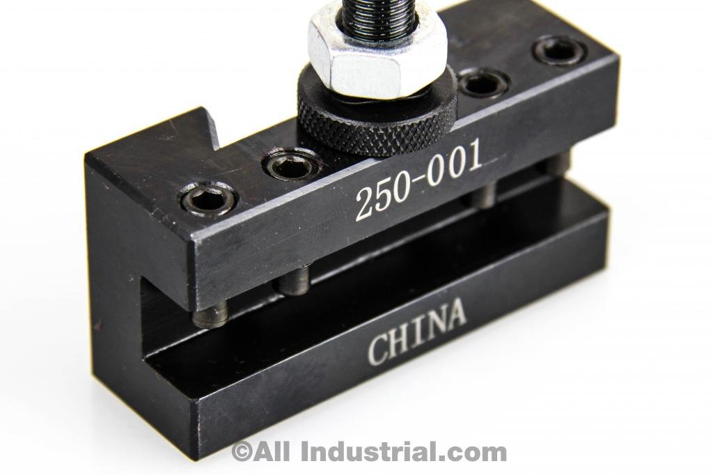 4 PC OXA WEDGE TOOL POST INTRO SET FOR MINI/HOBBY LATHES QUICK CHANGE TOOLING by All Industrial (Image #3)
