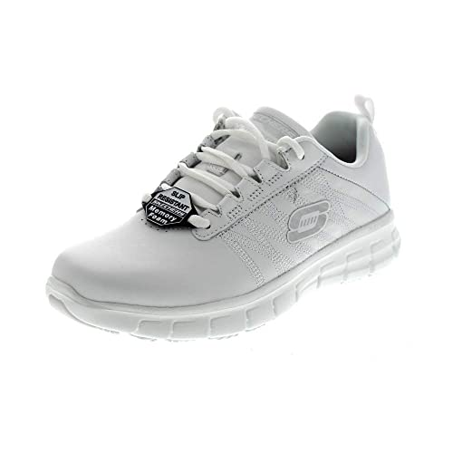 Skechers Sure Track - Memory Foam -Bianco-Sneakers Woman-Scarpe Donna -  Lavoro  Skechers  Amazon.it  Scarpe e borse 1eab25bb5f7