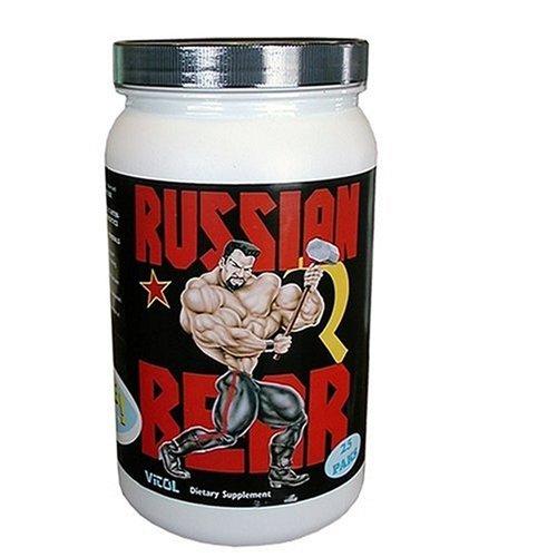 Vitol Russian Bear, 25 Paks, 1 Bottle (Bear Russian Gainer 5000 Weight)