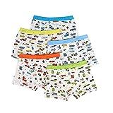 Boy Underwear Brief Boys Boxer Briefs(5 PCS) (L(5~8 Years))