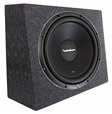 "Rockford Fosgate R1S4-12 12"" Prime 300 Watt 4-Ohm SVC Subwoofer + Sealed Box from ROCKFORD FOSGATE"