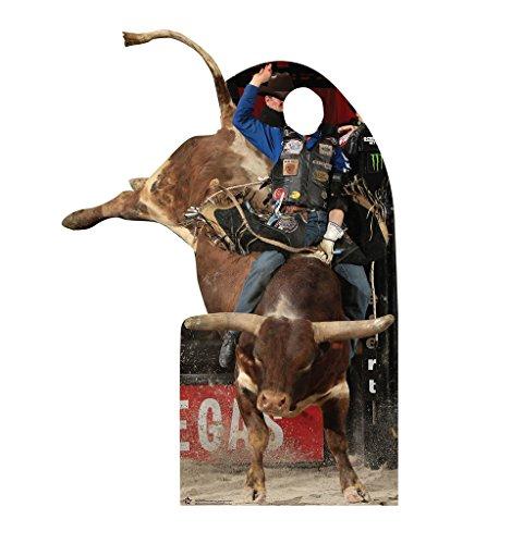 Professional Bull Rider Standin - Professional Bull Riders.Inc. (PBR) - Advanced Graphics Life Size Cardboard Standup ()
