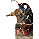 Professional Bull Rider Standin - Professional Bull Riders.Inc. (PBR) - Advanced Graphics Life Size Cardboard Standup