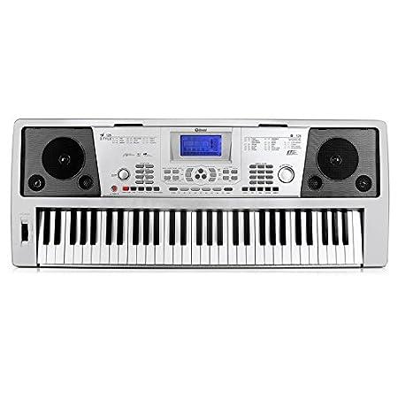 Schubert Subi61B • teclado • piano eléctrico • 61 teclas • 128 instrumentos • 128 ritmos de acompañamiento • 12 pistas demo • 4 memorias • MIDI-USB • rueda ...