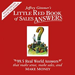 Little Red Book of Sales Answers Audiobook