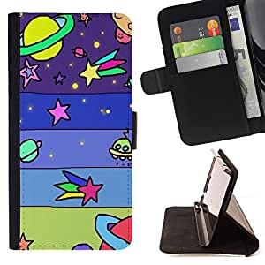 King Case - FOR Apple Iphone 6 - Every man is a poet - Prima caja de la PU billetera de cuero con ranuras para tarjetas, efectivo Compartimiento desmontable y correa para la mu?eca