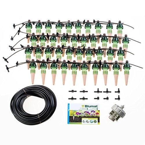 Blumat Drip System – 40 Pack XL Kit Pressure System – Smart Automatic Watering System, Great for Vacation, Made in Austria