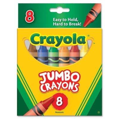 Crayolaamp;reg; - So Big Crayons, Large Size, 5 - Crayola Large Box Sets