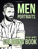 Men Portraits Coloring Book: Handsome Guys Hand